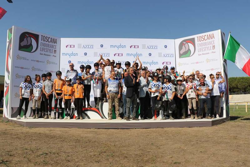 San Rossore, campionati italiani equestri under 14