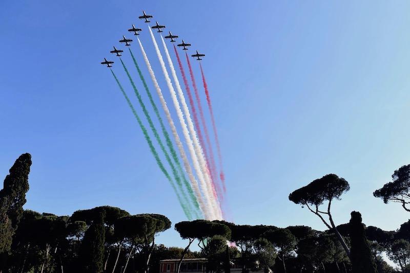 Frecce Tricolori PdS 8584 ph Simone Ferraro CONI
