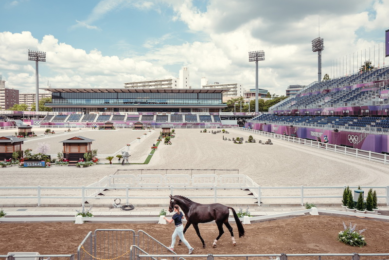 TOKYO2020 Horse inspection FEIChristoph Taniere