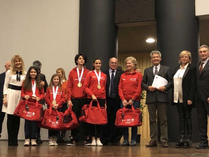 Premiazione Trofeo CONI Kinder sport 2018