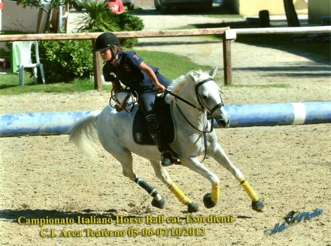 Campionato Italiano Horseball (ott 2012)
