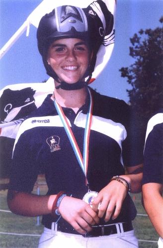 Chiara Falchi Argento a Squadre Ponyadi 2012