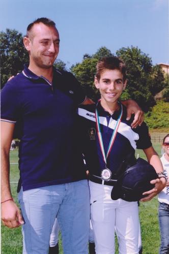 Emanuele Lampis e Giangi Murruzzu sul podio