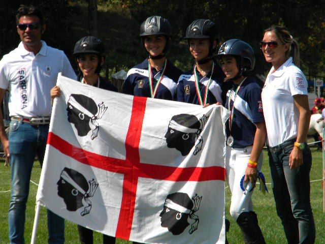 I nostri quattro mori argento alle Ponyadi 2012