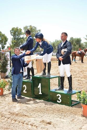 premiazione dei campionati sardi (foto P. Corbinzolu)