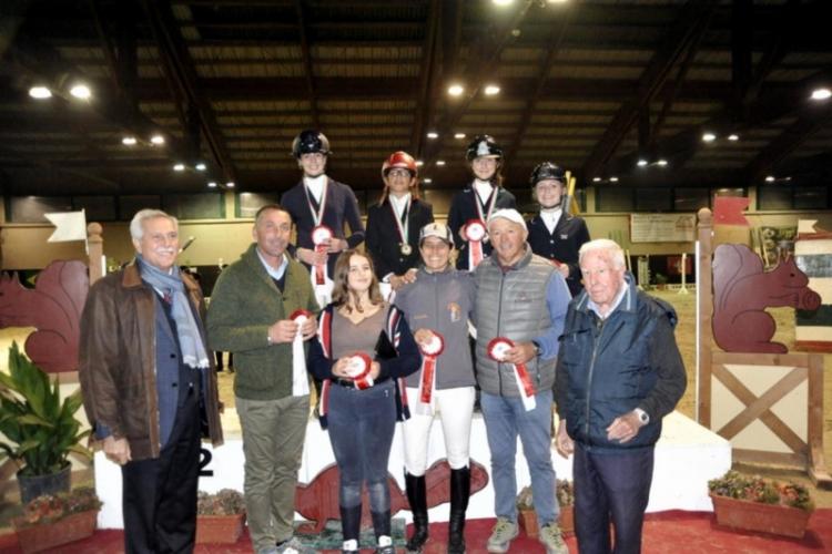 Campionati Toscani Indoor Cavalli 1^ parte e Pony - Squadre Cavalli Assoluto
