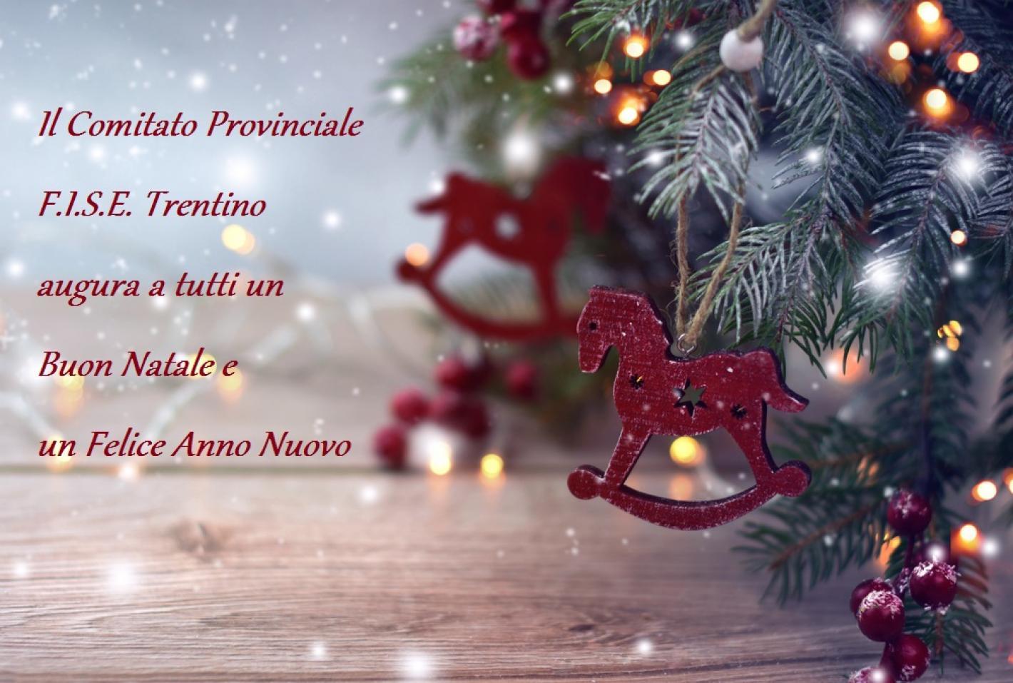 Auguri Di Buon Natale Felice Anno Nuovo.Federazione Italiana Sport Equestri Comitato Regionale Trentino Auguri Di Buon Natale E Un Felice Anno Nuovo